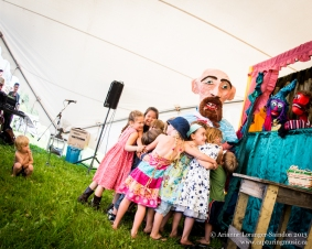 BV Puppetry, Midsummer Music Festival, Smithers, 2013