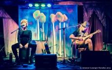 Seth and Shara, the festival's hosts, as Samson's Delilah. www.facebook.com/samsonsdelilahmusic