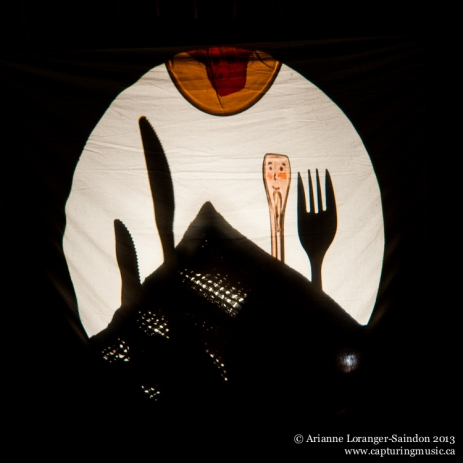 Mind of a Snail, Shadow Puppetry, ArtsWells, 2013