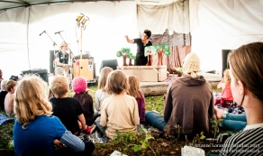 Lost and Found Puppet Company (Maggie Winston), Robson Valley Music Festival, 2013