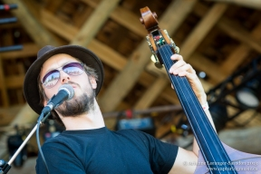 Steve Blockley Band. Look in the sunglasses... Kispiox Valley Music Festival, 2013