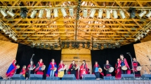 Opening Ceremony with 'Ewk Hiyah Hozdli Dance Co-op, Midsummer Music Festival, Smithers, July 5th 2013.