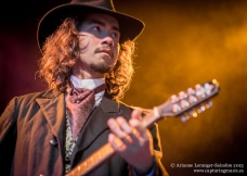Sam from King Crow and the Ladies from Hell, Main Stage, Midsummer Music Festival, 2013.
