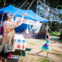 Dr. Bubbles, Edge of the World Music Festival, Tlell, 2013