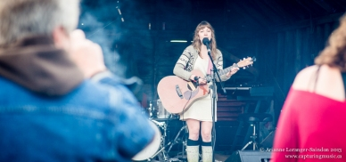 Local talent Samantha Scott. Such a great voice! Give her a listen: https://soundcloud.com/samanthascottmusic.