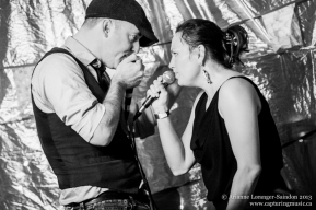 C.R. Avery and Tanya Tagaq